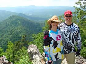 Ouachita hike view