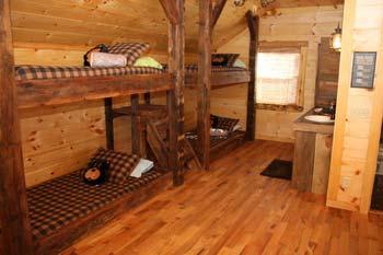 cabin rental bunk house near mena ar