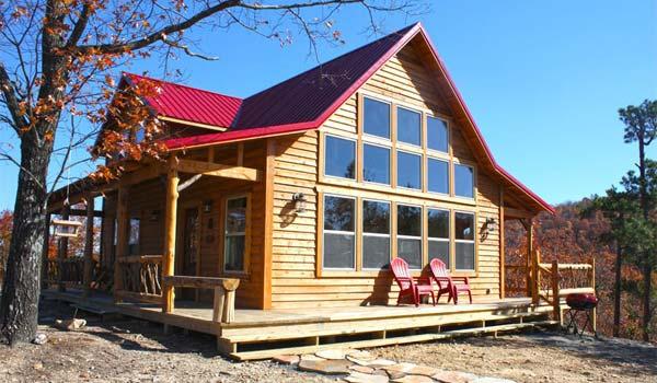 Ouachita cabin rental in Mena AR