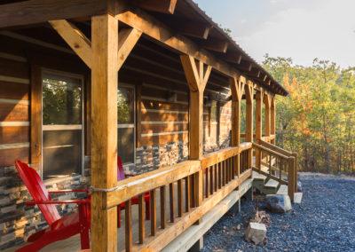 Exterior 39 Hideaway At Clear Sky Ridge Cabin Rentals Near Wolf Pen Gap In Mena Arkansas