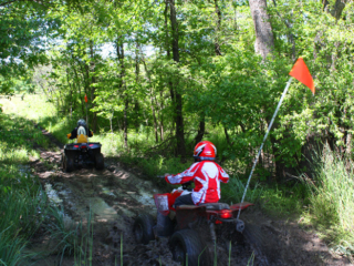 ATV mud trail