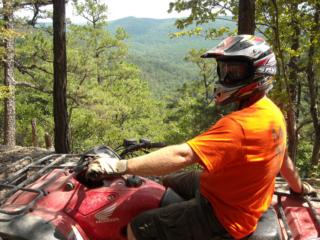 ATV Wolf Pen Gap trail
