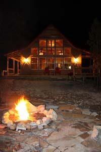 Cabin Mena Fire Pit