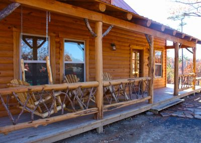 Cabin Porch Front