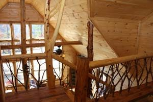 Clearskylodge Cabin Stairs