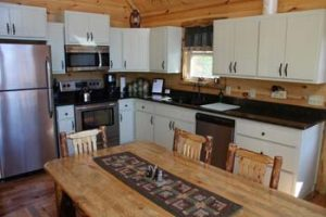 Rental Cabin Kitchen