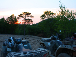 Sunrise at Wolf Pen Gap