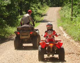 Wolf Pen Gap Atv Family